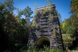 McIntyre Iron Furnace Ruins
